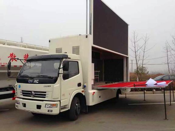 国五东风多利卡LED广告车